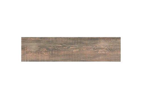 Vloertegel: Nordceram Gate Braun 22x90cm