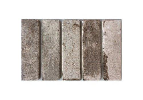 Brick: Cinca Brick Road Grijs 7,5x25cm