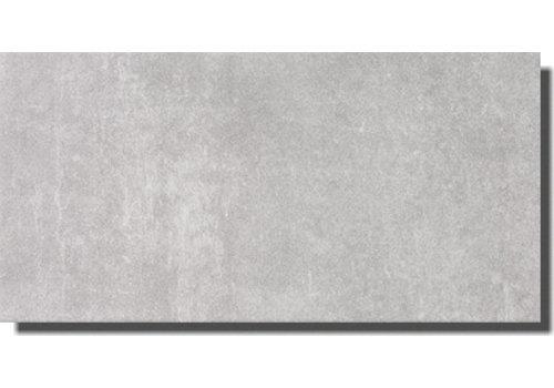 Wandtegel: Steuler Urban Wall Mittelgrau 25x50cm
