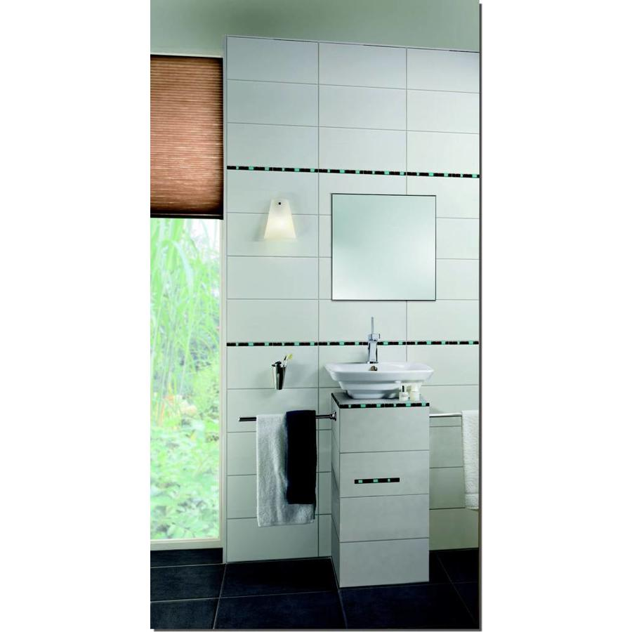 Wandtegel: Steuler Pure White Weiss glans 20x40cm
