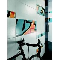Wandtegel: Steuler Graffiti Uni Hellgrau 33x80cm