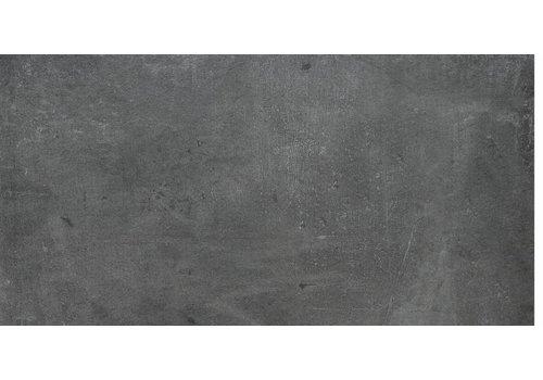 Vloertegel: Rak Cementina Antracite 30x60cm