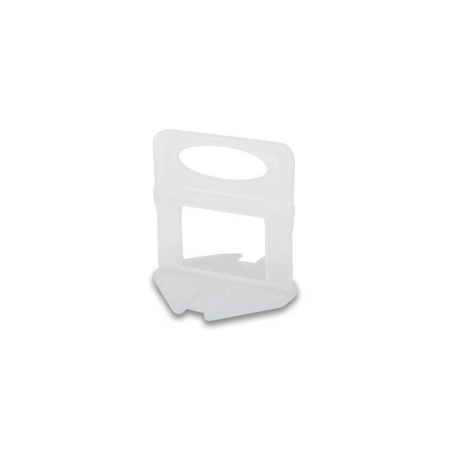 Rubi Delta leveling systeem clips 200 st dikte 1,5 mm hoogte 3-12 mm