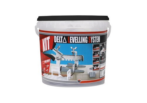 Rubi Delta leveling systeem kit 1,5 mm