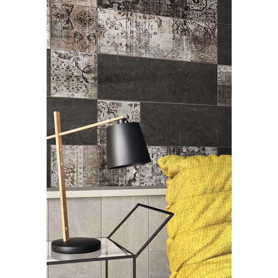 Wandtegel: Iris Sync Coal 60x20cm