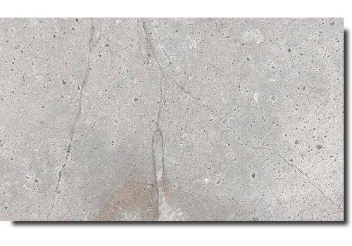 Vloertegel: Astor Fusion White 45,3x75,8cm