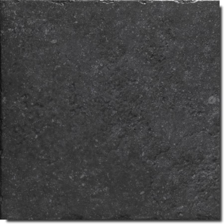 Vloertegel: Carofrance Pierre du Nord Blue noir 45x45cm