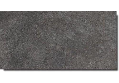 Vloertegel: Carofrance Fusion Zwart 30x60cm