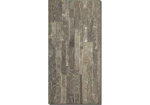 Wandtegel: Stargres Italia Bruin 31x62cm