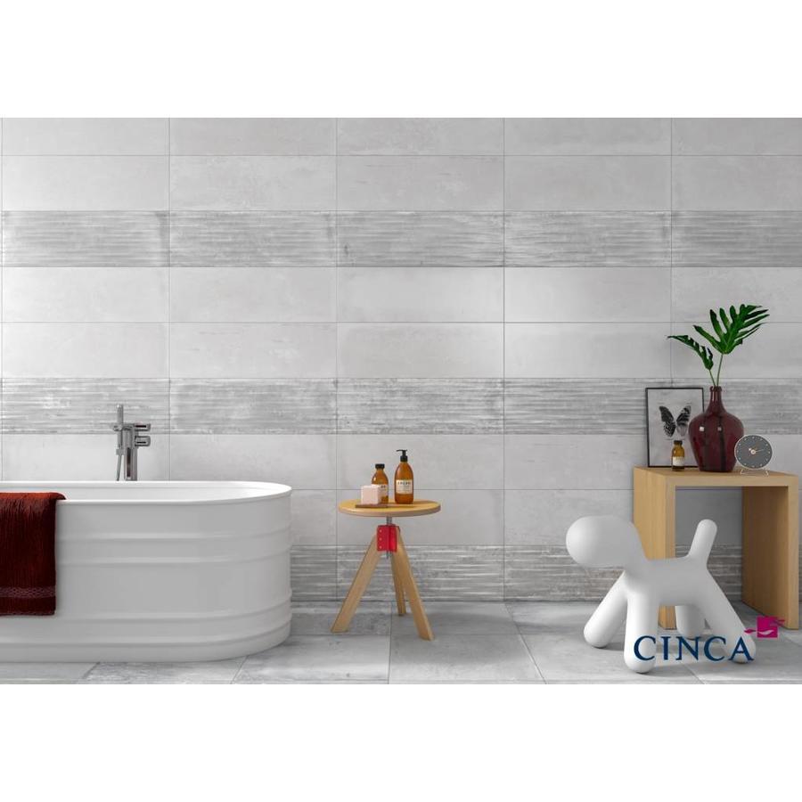 Wandtegel: Cinca Factory Wit 25x45cm