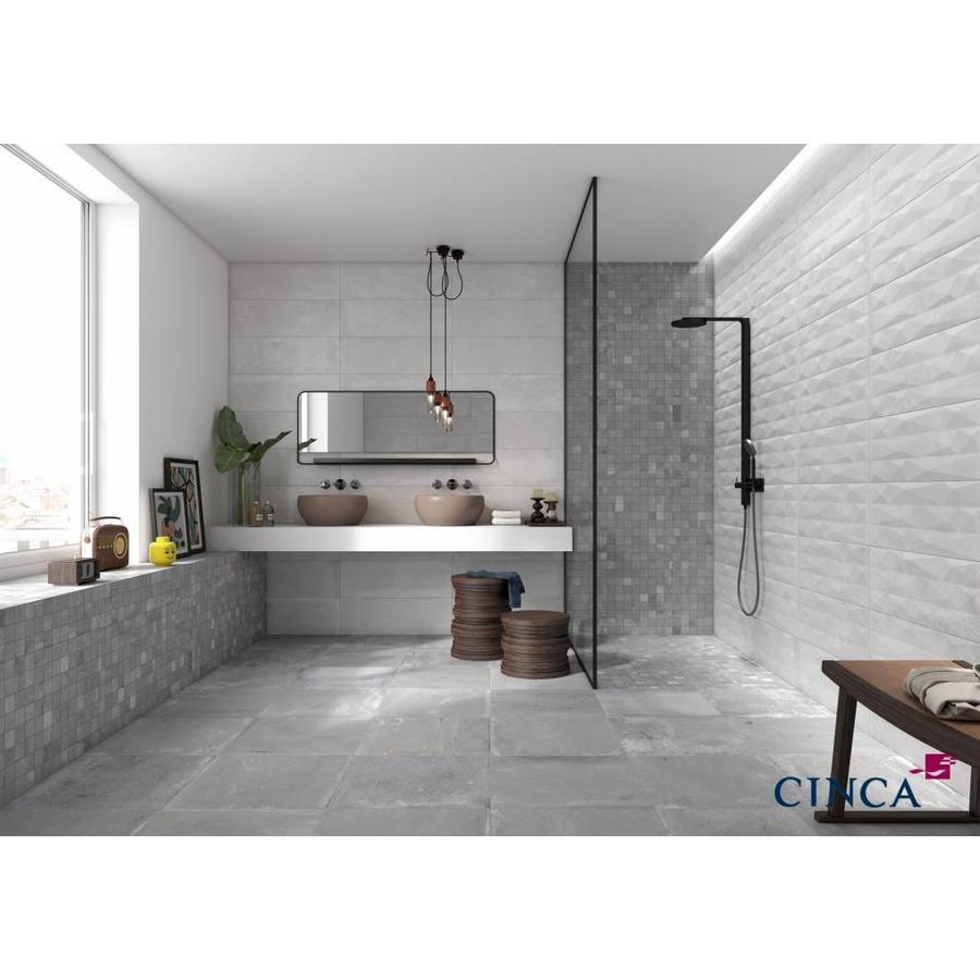 Wandtegel: Cinca Factory White 25x45cm