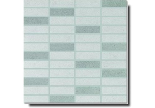 Meissen Cement 30x30 mosaik lightgrey-grey mix FBM4478