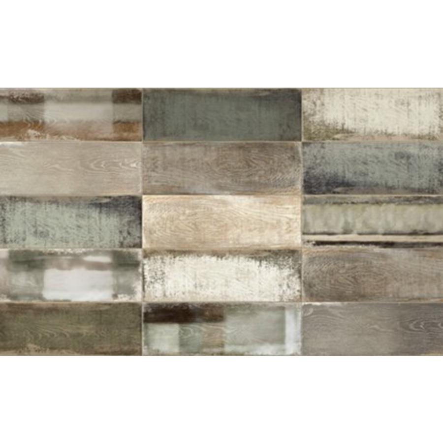 Wandtegel: Iris Wheat Brown 10x30cm