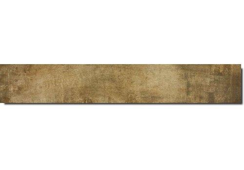 Vloertegel: Serenissima Norway Geel 20x120cm