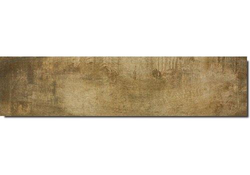 Vloertegel: Serenissima Norway Geel 30x120cm