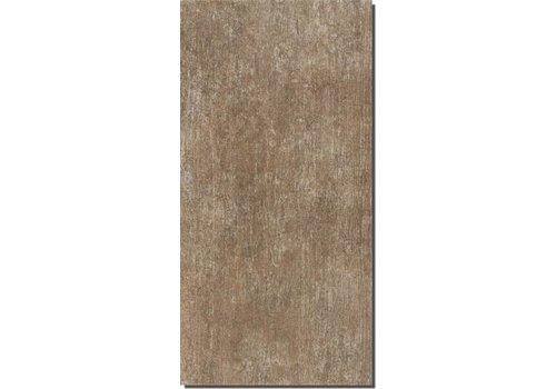 Vloertegel: Nordceram Fossil Bruin 30x60cm