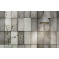 Wandtegel: Iris Quayside Greyart 10x20cm