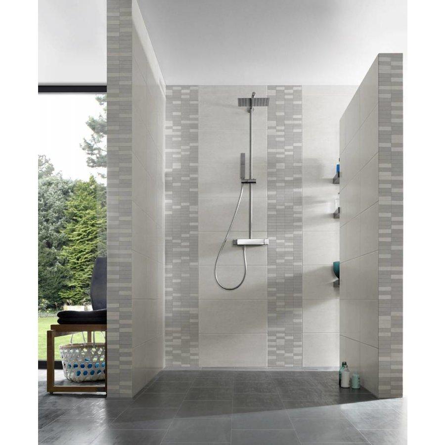 Meissen Cement 30x30 mosaik lightgrey-grey mix FBM4478