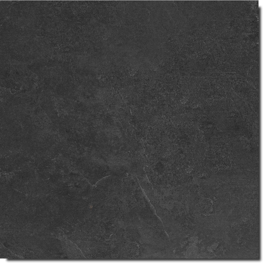 Vloertegel: Ragno Realstone Black 60x60cm