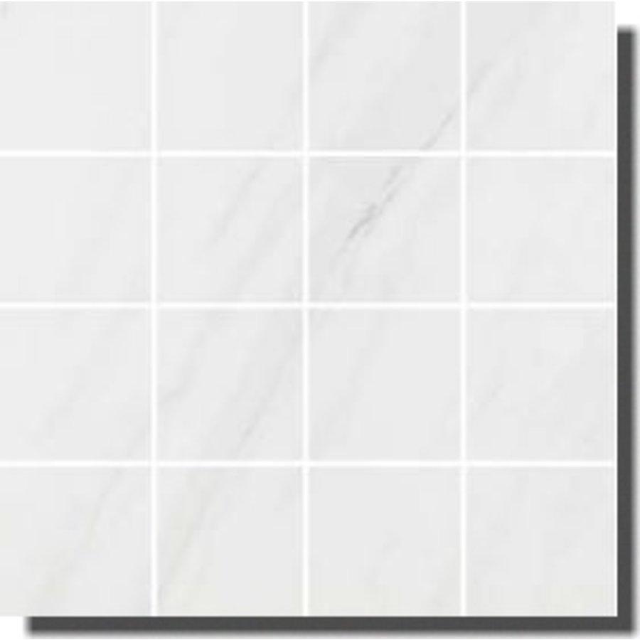Pamesa CR Lenci 30x30 malla blanco compac glass