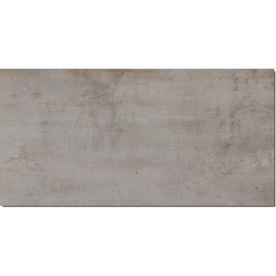 Vloertegels: Flaviker Rebel Silver 120x270cm