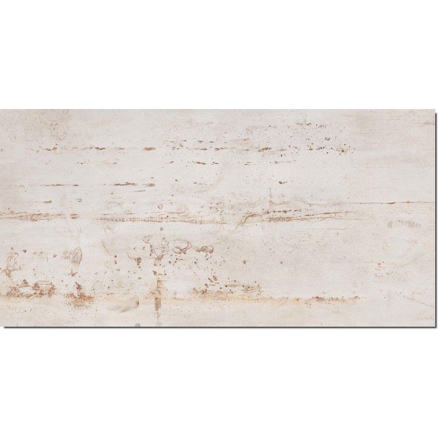 Vloertegel: Flaviker Rebel White 120x270cm