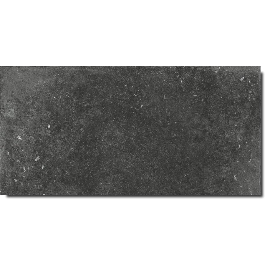 Vloertegel: Flaviker Nordik Stone Black 30x60cm
