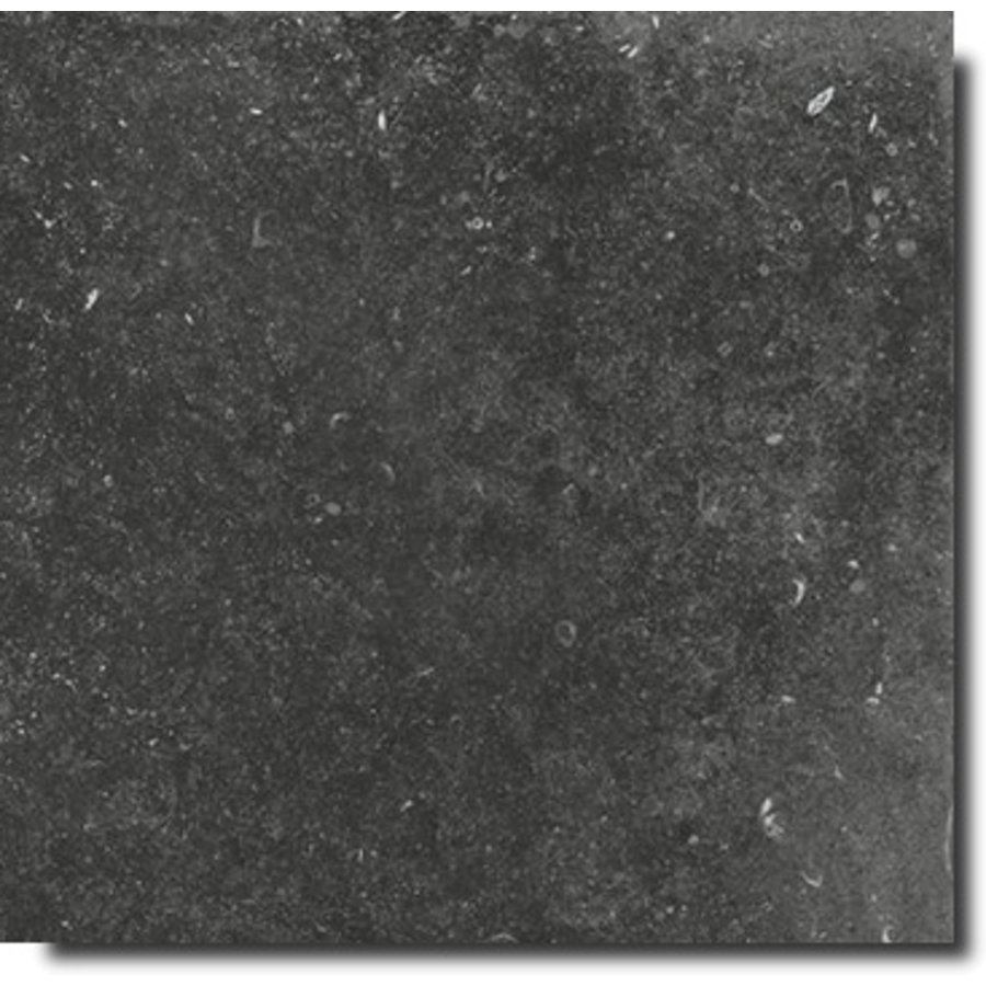Vloertegel: Flaviker Nordik Stone Black 120x120cm