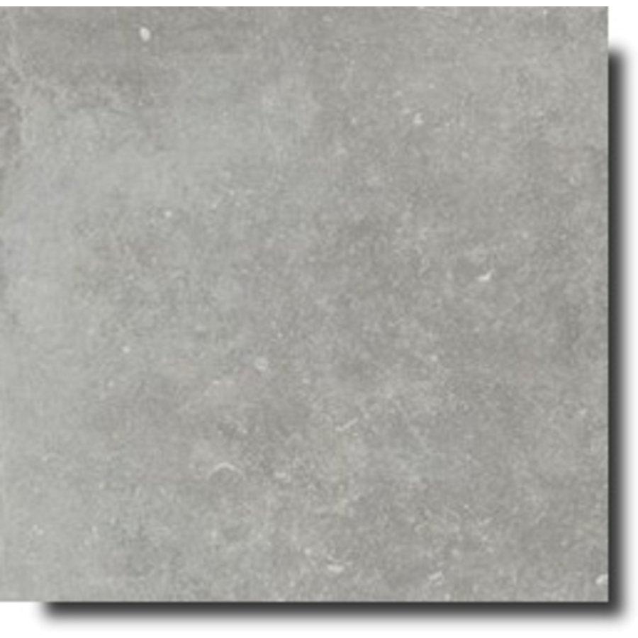 Vloertegel: Flaviker Nordik Stone Ash 120x120cm