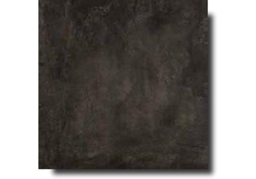 Vloertegel: Rak Basic Black 75x75cm