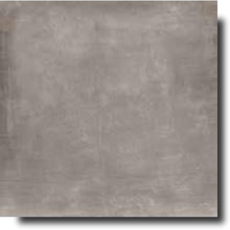 Vloertegel: Rak Basic Dark grey 75x75cm