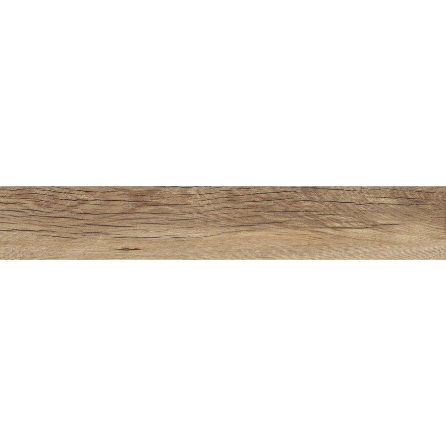 Vloertegel: Flaviker Nordik Wood Gold 20x120cm