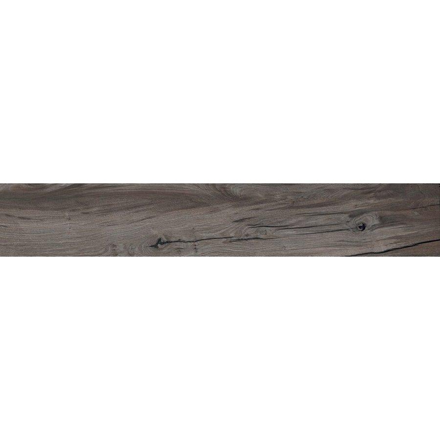Vloertegel: Flaviker Nordik Wood Smoked 20x120cm