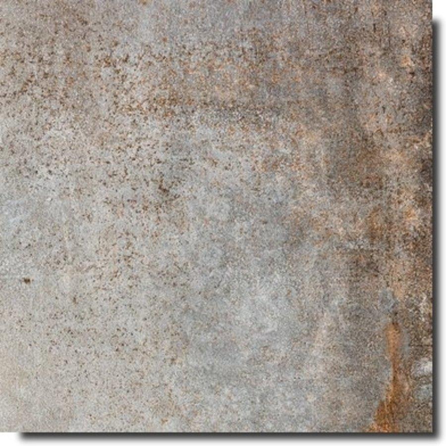 Vloertegel: Rak RAK Evoque Metal Grey 60x60cm