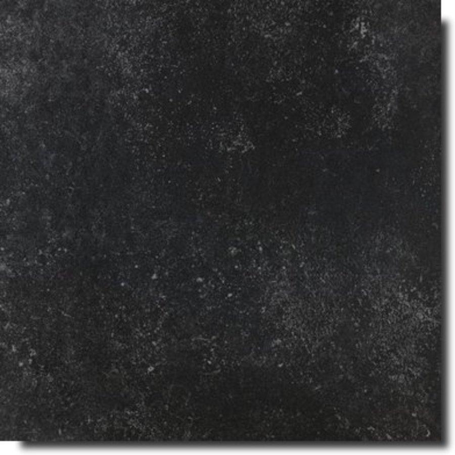Vloertegel: Rak Rak Fashion Stone Black 75x75cm