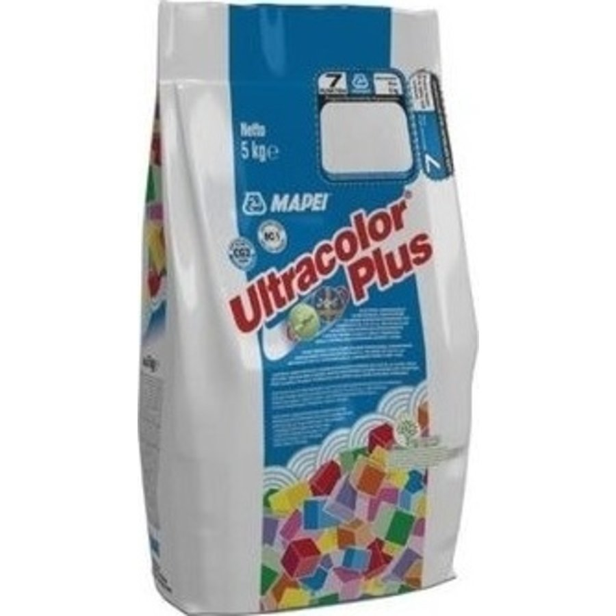 Mapei Ultracolor Plus alu 113 5 kg voegmortel cementgrijs IT