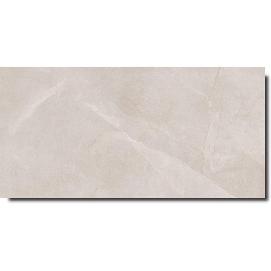 Vloertegel: Ariana Storm White 30x60cm