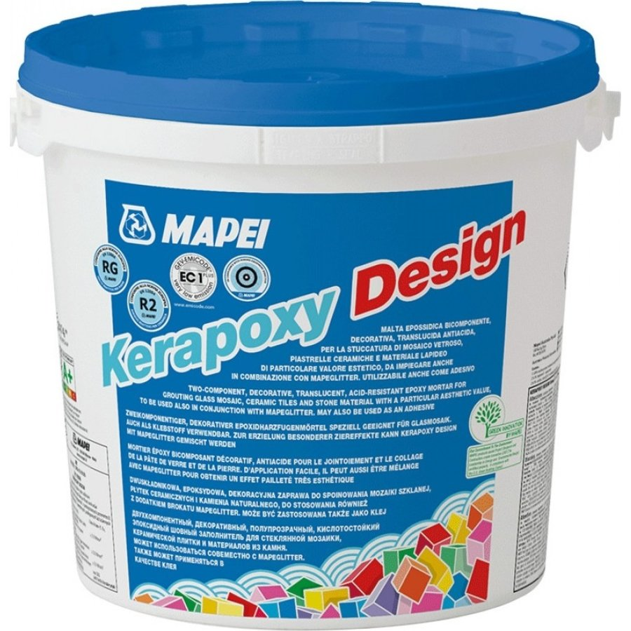 Mapei Kerapoxy Design 111 3 kg zilvergrijs