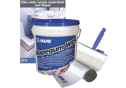 Mapei Mapegum WPS 5 kg met mapeband en blokwitter PLUS