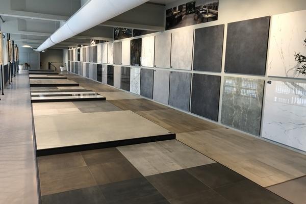 tegel showroom in Den Bosch