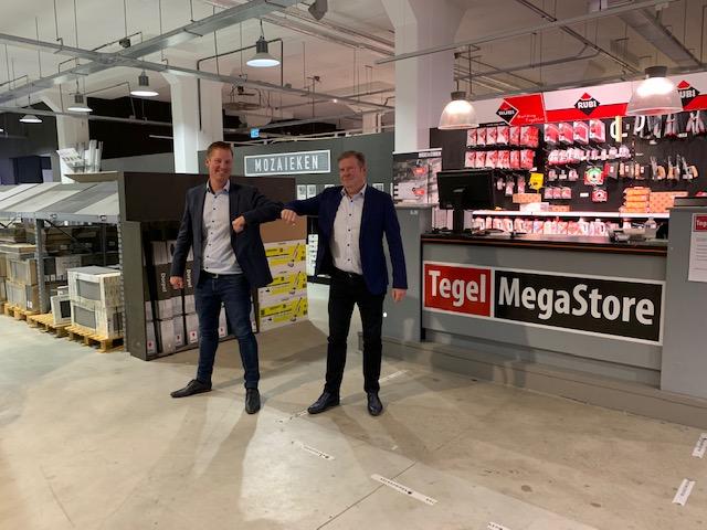 TegelMegaStore Zaandam krijgt nieuwe eigenaar en wordt twee keer zo groot!