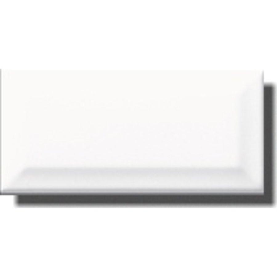 Wandtegel: Primus Metro Wit 10x20cm