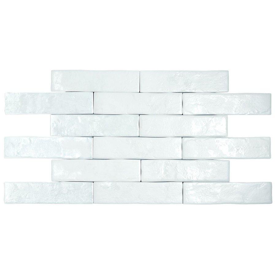 Pamesa Brickwall 7x28 vt blanco c.g.