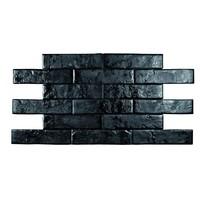 Pamesa Brickwall 7x28 vt negro c.g.