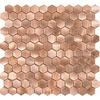 Dune Dune Reflections mosaico 29x30,5 Hexagonales 187957