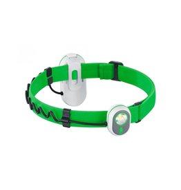 Alpina Sport AS01 2 in 1 Stirnlampe - grün