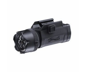 Walther night force combo laser mit led flashlight blacktac e