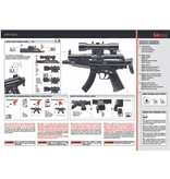 H&K MP5 Kidz Dual Power - 0,08 Joule