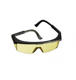 Combat Zone SGC safety goggle classic - yellow
