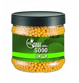 Combat Zone BB 0,12 Gramm - 5.000 Stück - gelb
